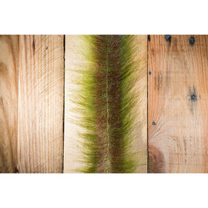 "EP Craft Fur Brush 3"" - Medium Olive & Brown"