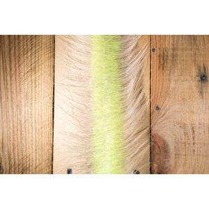 "EP Craft Fur Brush 3"" - Sand & Chartreuse"