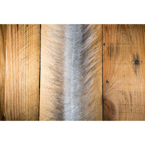 "EP Craft Fur Brush 3"" - Grey & White"