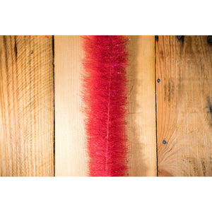 "EP Minnow Head Brush 1.5"" - Bloody Red"