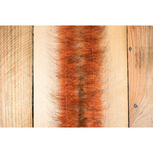 "EP Foxy Brush 1.5"" - Hot Orange & Black"
