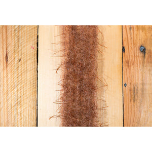 "EP Wooly Critter Brush .5"" - Brown"
