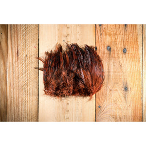 Barred Strung Neck Hackle - Brown