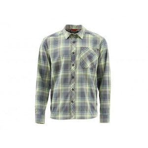 Simms Outpost Fishing Shirt - Storm Plaid