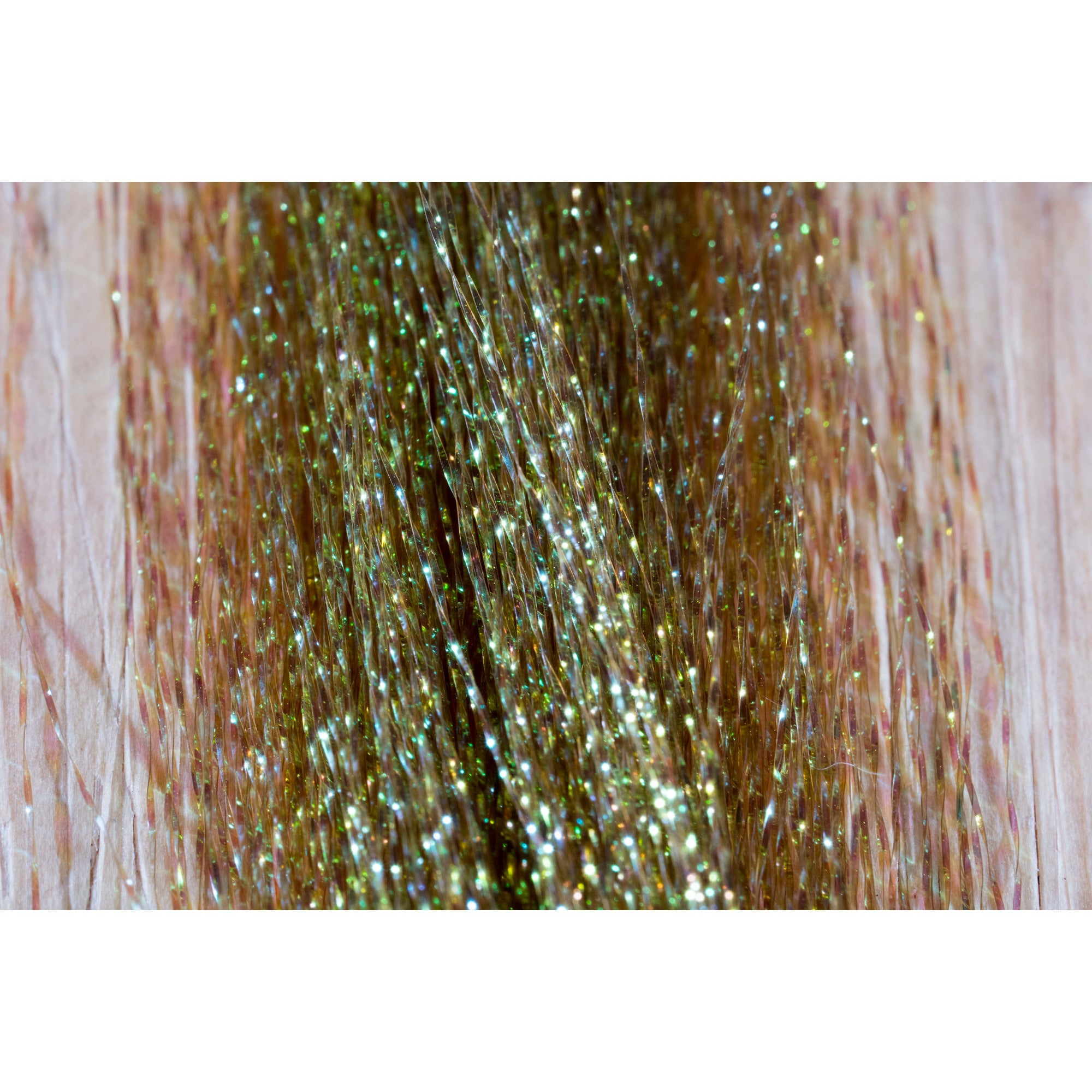 Hareline Rusty Brown Krystal Flash Chenille Fly Tying Material