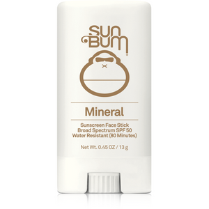 Sun Bum Mineral SPF 50 Sunscreen Face Stick - 0.45oz
