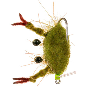 Enrico Puglisi Fleeing Crab - Olive - Size 1