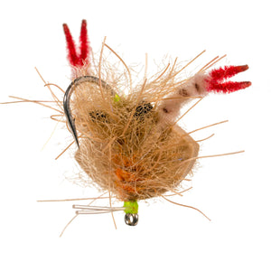 Enrico Puglisi Floating Crab - Tan - Size 2/0