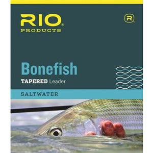Rio Bonefish Leader 10FT - 3 Pack