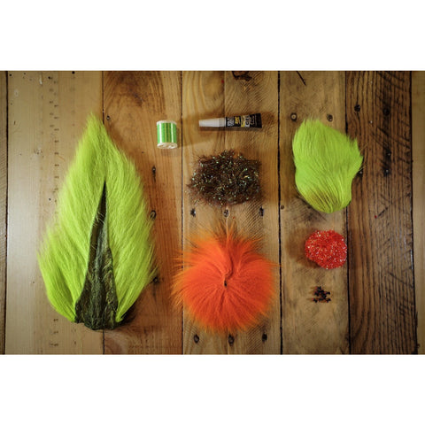 Deer Hair Megalolipop DIY Kit - Good Use Chartreuse