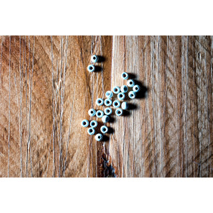 "Dazzle Brass Beads (3/32"") - Glow In The Dark"