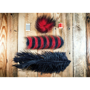 Paul's BMF DIY Material Kit - Red & Black