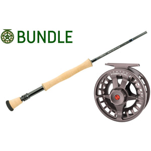 Echo Boost Salt Rod & Waterworks Lamson Remix Reel Bundle
