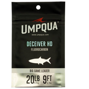 UMPQUA DECEIVER HD BIG GAME FLUOROCARBON LEADER