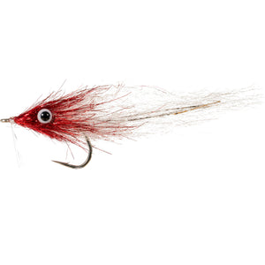 Enrico Puglisi Bay Anchovy - Red & White - Size 1/0