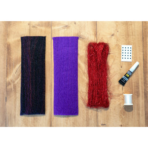 EP Minnow DIY Kit - Black & Purple