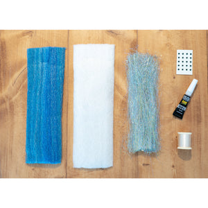 EP Minnow DIY Kit - Tarpon Heartbreak Blue
