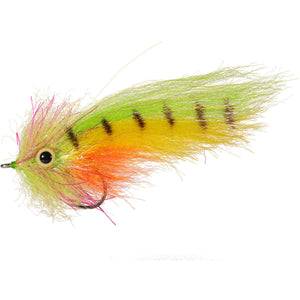 Enrico Puglisi Amazon SP - Chartreuse, Orange & Yellow - Size 4/0