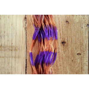 Fly Enhancer Legs - Purple/Pumpkin