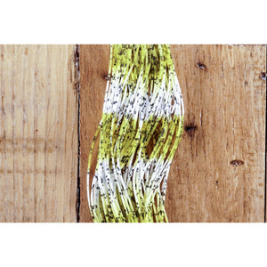 Fly Enhancer Legs - Yellow/White/Black Spot