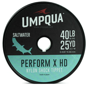 PERFORM X HD SALTWATER NYLON TIPPET