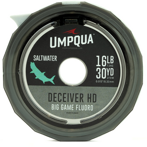 UMPQUA - DECEIVER HD BIG GAME FLUOROCARBON TIPPET