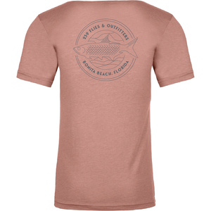239 Imperial River Salmon Tee