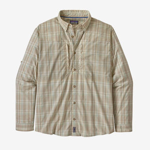 Patagonia Men's Long Sleeve Sun Stretch Shirt Pumice