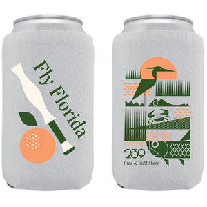 239 Flies ENP Beer Koozie