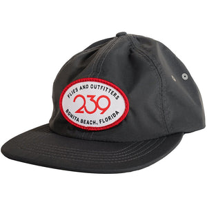 239 Happy Camper Patch Hat - Gray