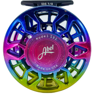 Abel Reels SDS 7/8 - Northern Lights w/ Matching Drag Knob & Walnut Handle