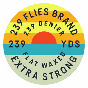 239 Denier West Coast Sticker