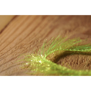 Krystal Hackle (Medium) - Florescent Yellow