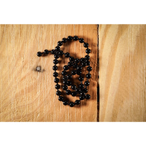 Bead Chain - Large, Black
