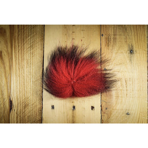 Arctic Fox Tail Hair - Red