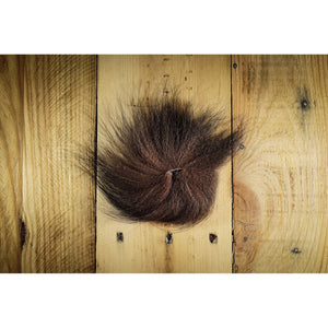 Arctic Fox Tail Hair - Brown