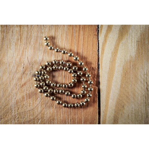 Bead Chain - Medium, Gold