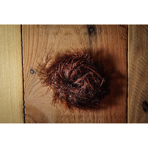 Krystal Hackle (Medium) - Brown