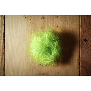 Krystal Hackle (Medium) - Chartreuse