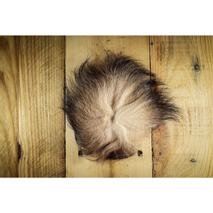 Arctic Fox Tail Hair - Tan