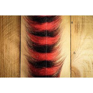 "EP Sommerlatte's Grizzley Foxy Brush 3"" - Black & Red"