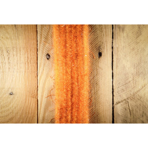"EP Wooly Critter Brush .5"" - Hot Orange"