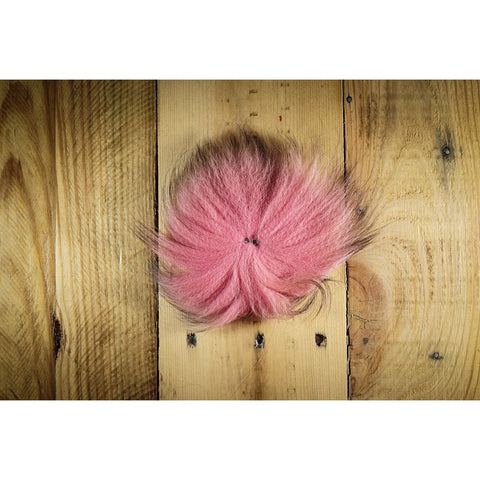 Arctic Fox Tail Hair - Pink