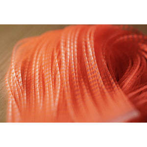 Chicone's Crusher Legs (Regular) - Fluorescent Orange Barred Clear
