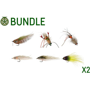 Inshore Snack Pack Fly Bundle