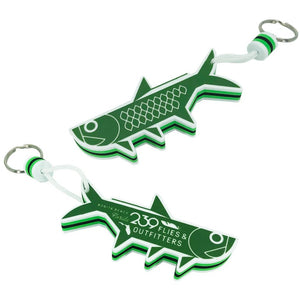 239 Tarpon HQ Floating Keychain