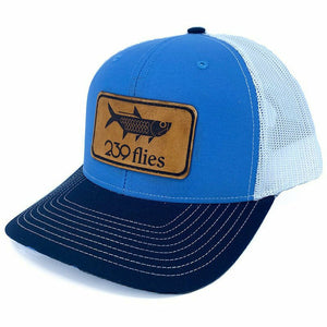 239 Leather Patch Poon Trucker