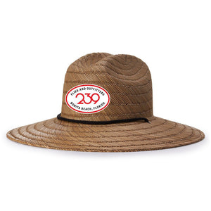 239 Rum Runner Straw Hat