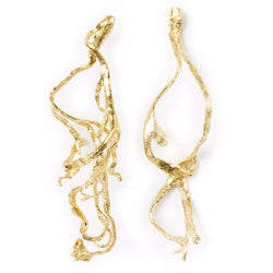 Earrings ALGA 72 MM