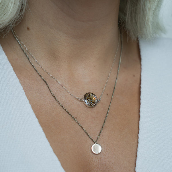 River Trout Skin Necklace